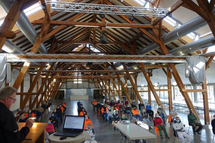 Für die Wintersaison 2020/2021 stehen 2.000 Tonnen Salz im Bauhof bereit.