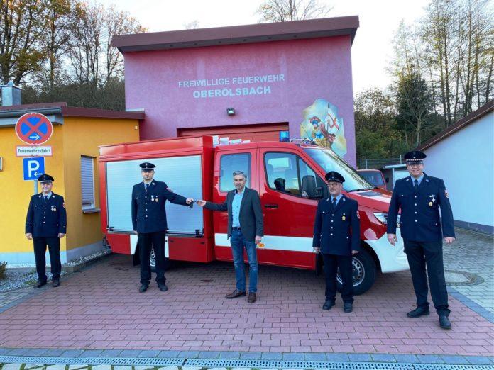 Neues Fahrzeug für die Freiwillige Feuerwehr Oberölsbach